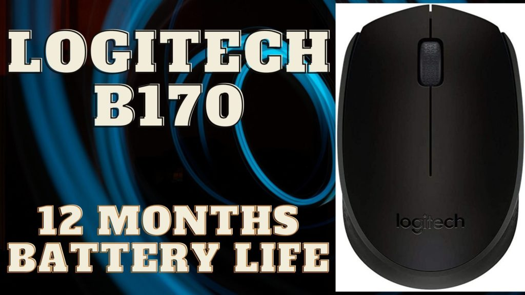 Logitech B170 Best 3 Wireless Mouse For a Laptop under Rs. 500