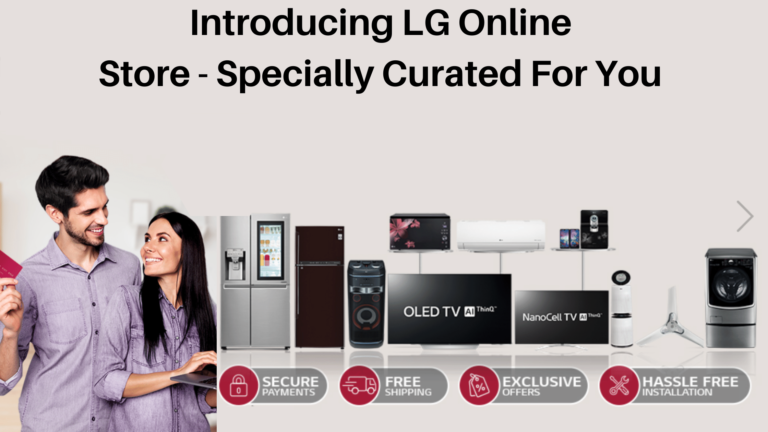LG home appliances