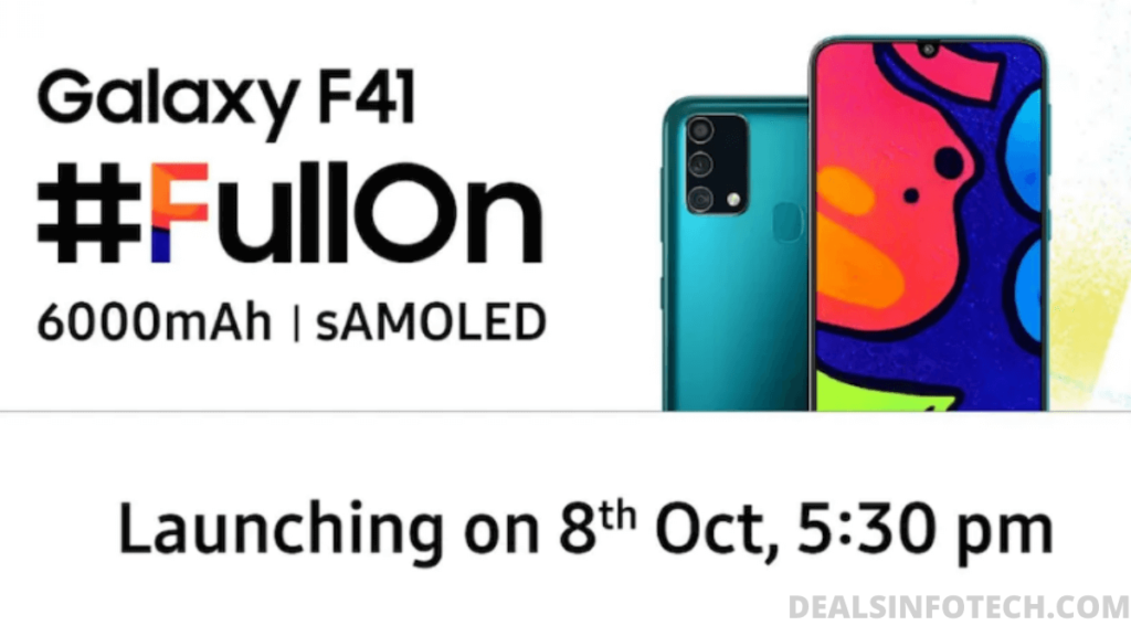 Samsung Galaxy F41 Expected Price And Best Features