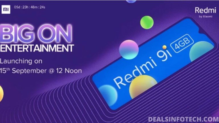 Redmi 9i To Launch In India on September 15, 2020