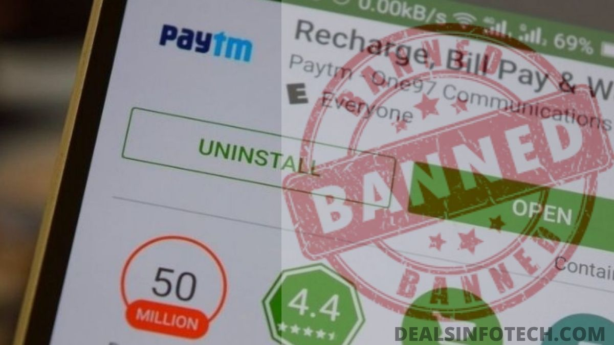 Google removes the Paytm app from the Play Store 2020