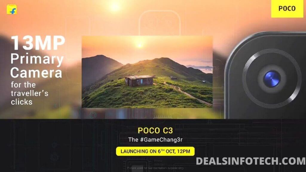 POCO C3 CONFIRMED TO ARRIVE WITH 13MP TRIPLE REAR CAMERAS