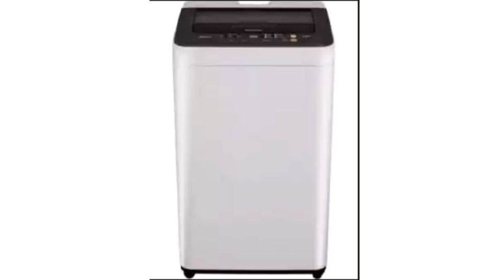 1. Panasonic Fully-Automatic Top Loading Washing Machine