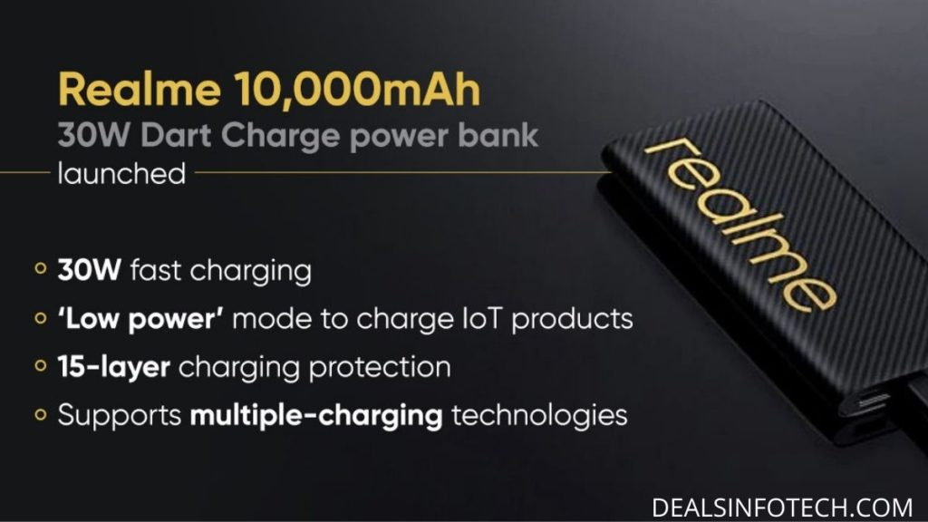 Realme 30W dart charger