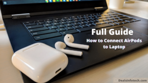 How to connect airpods to laptop
