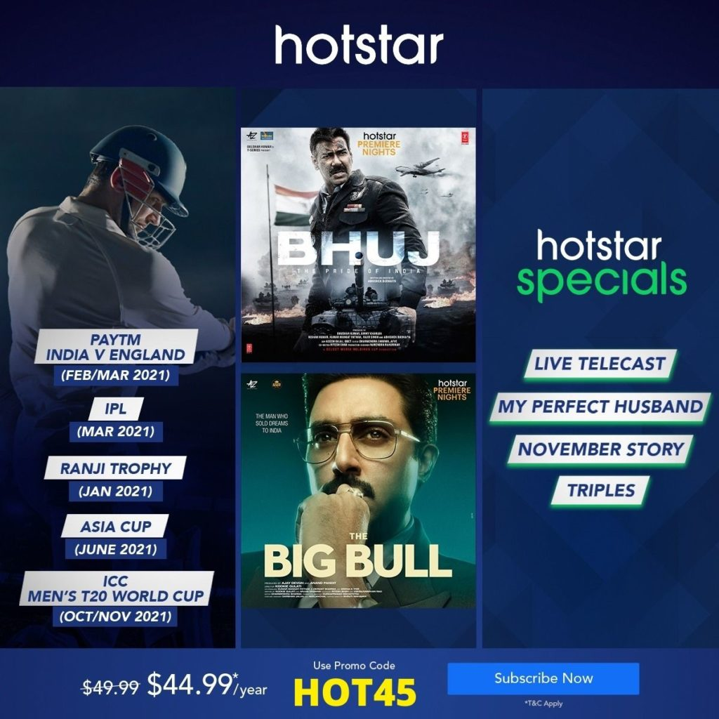 Hotstar Subscription offer