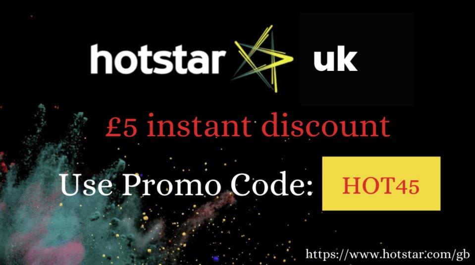 Hotstar UK coupon